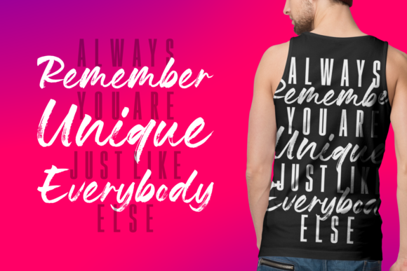 Print on Demand: Lovely Boys Script & Handwritten Font By Keithzo (7NTypes) - Image 6