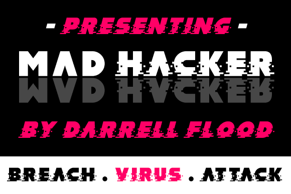 Print on Demand: MAD Hacker Display Font By Dadiomouse