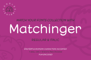 Macthinger Font By Situjuh
