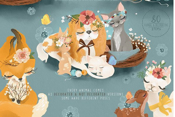 Print on Demand: Mama & Baby Collection Graphic Illustrations By Anna Babich - Image 3