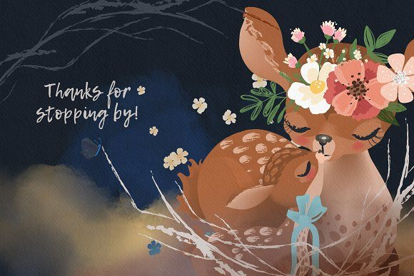 Print on Demand: Mama & Baby Collection Graphic Illustrations By Anna Babich - Image 6