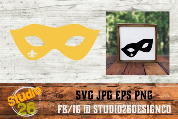 Download Free Mardi Gras Mask Svg Graphic By Studio 26 Design Co Creative Fabrica for Cricut Explore, Silhouette and other cutting machines.