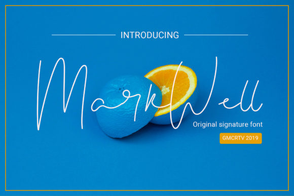 Print on Demand: Markwell Script & Handwritten Font By gumacreative