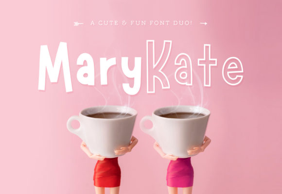 Print on Demand: Marykate Sans Serif Font By typefairy - Image 1