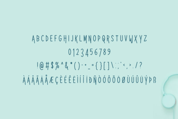 Print on Demand: Maximin Display Font By Spanking Fonts - Image 2