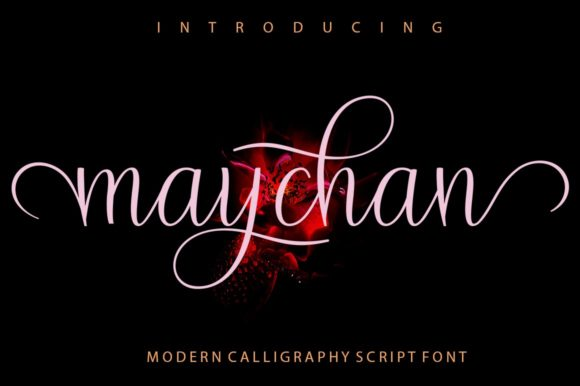 Print on Demand: Maychan Script & Handwritten Font By Encolab