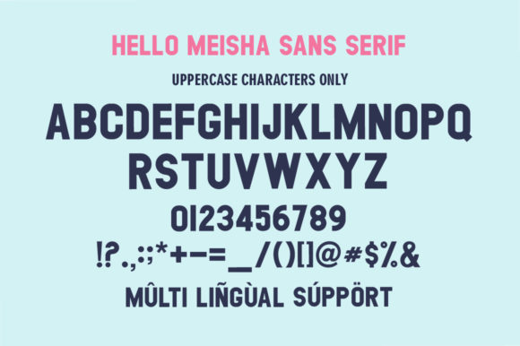 Print on Demand: Meisha Duo Script & Handwritten Font By fanastudio - Image 10