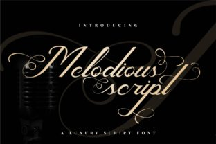 Melodious Script Font By putracetol