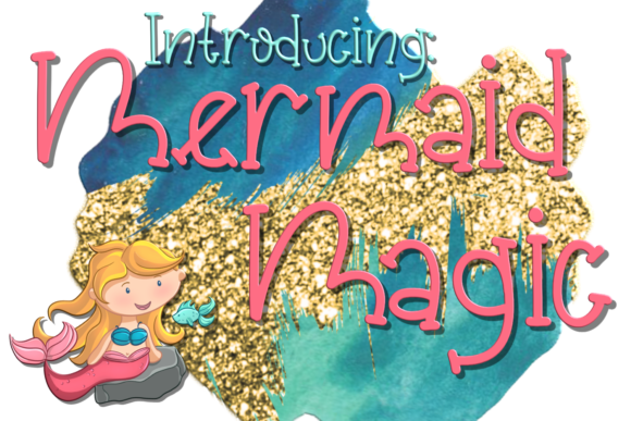 Print on Demand: Mermaid Magic Serif Font By SugarBearStudio