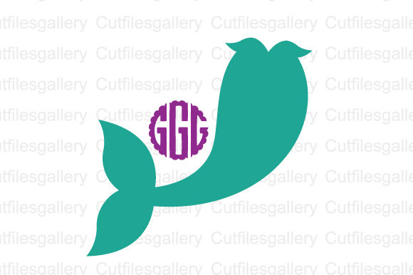 Download Free Mermaid Tail Graphic By Cutfilesgallery Creative Fabrica for Cricut Explore, Silhouette and other cutting machines.