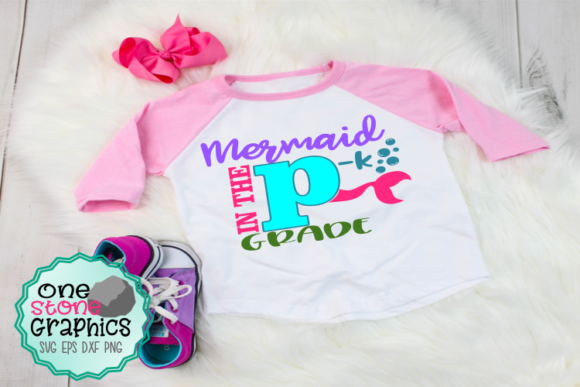 Mermaid in Pre-k Svg Graphic Crafts By OneStoneGraphics