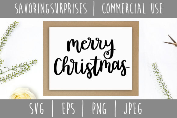 Merry Christmas Graphic Crafts By SavoringSurprises