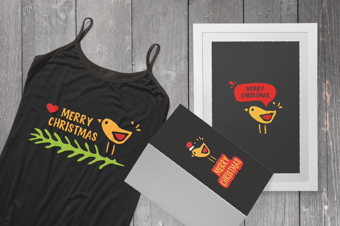 Download Free Merry Christmas Bird Shirt Svg Graphic By Duka Creative Fabrica for Cricut Explore, Silhouette and other cutting machines.
