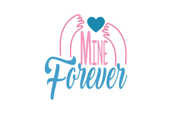 Download Free Mine Forever Quote Svg Cut Graphic By Thelucky Creative Fabrica for Cricut Explore, Silhouette and other cutting machines.