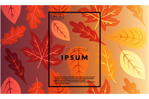 Download Free Minimal Autumn Geometric Wallpaper Vector Graphic By Iop Micro for Cricut Explore, Silhouette and other cutting machines.