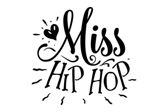 Miss Hip Hop Easter Craft Cut File By Creative Fabrica Crafts