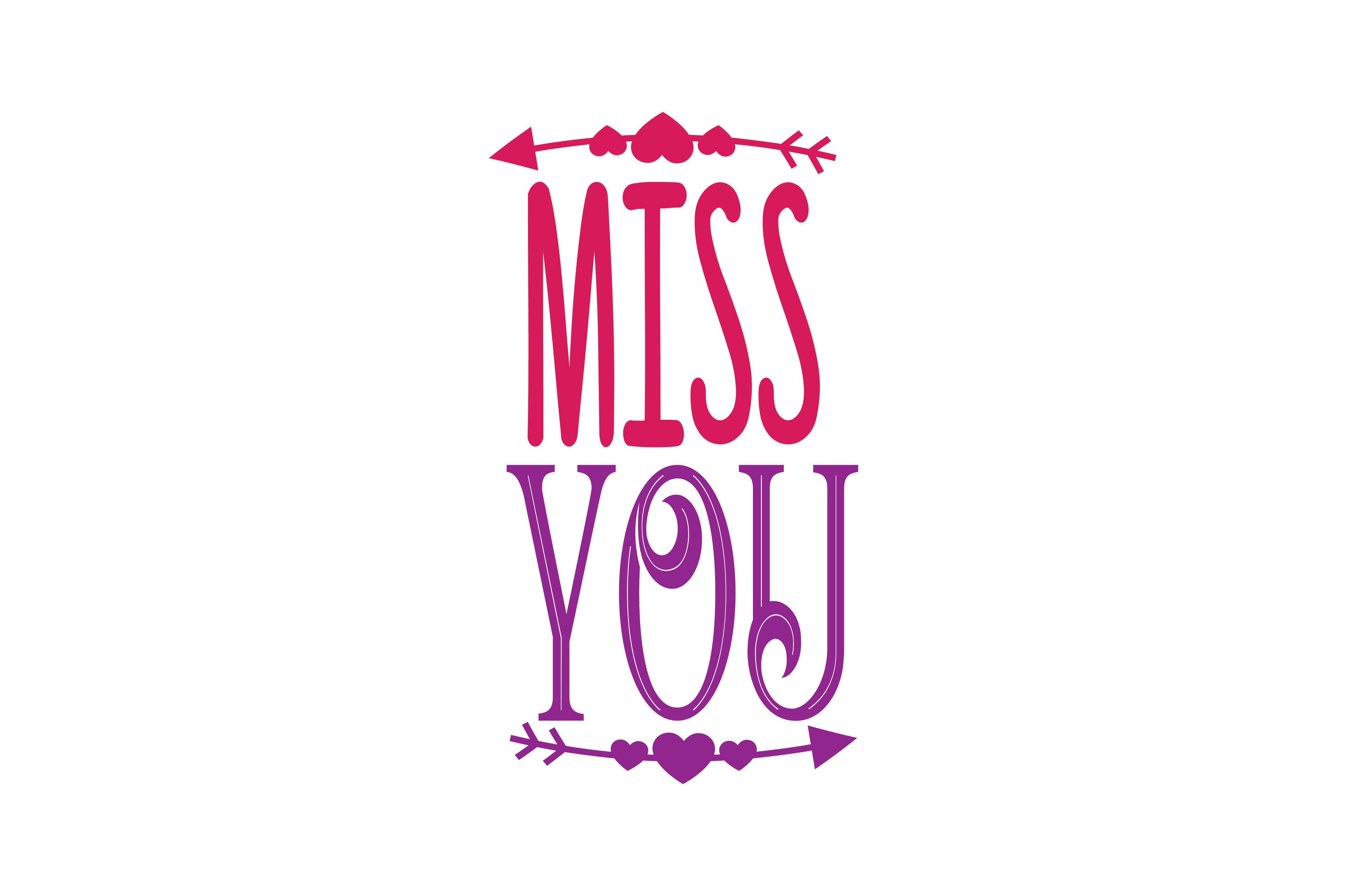 Download Free Miss You Quote Svg Cut Graphic By Thelucky Creative Fabrica SVG Cut Files