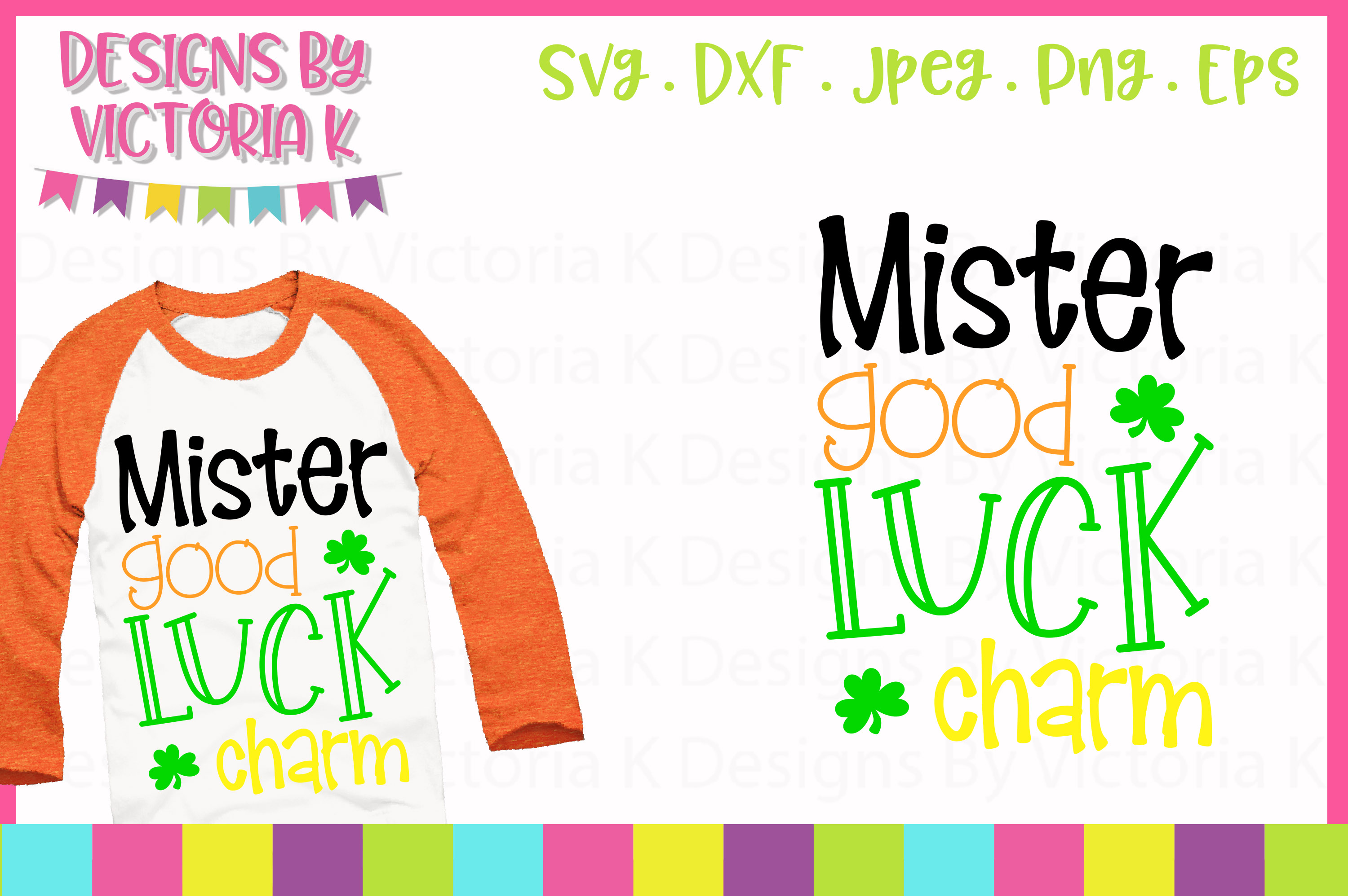 Download Free Mister Good Luck Charm Svg Graphic By Designs By Victoria K for Cricut Explore, Silhouette and other cutting machines.