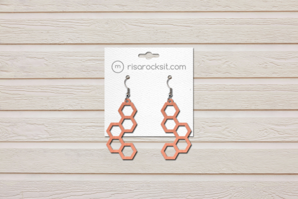 Download Free Modern Earrings Bundle Graphic By Risarocksit Creative Fabrica for Cricut Explore, Silhouette and other cutting machines.