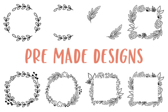 Modern Florals Graphic Elements Graphic Illustrations By jordynalisondesigns - Image 2