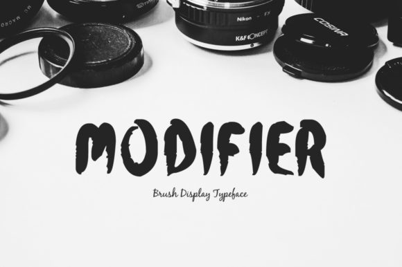Print on Demand: Modifier Display Font By Spanking Fonts