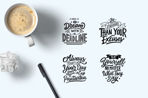 Motivational Quotes Bundle Graphic By Weape Design Image 2
