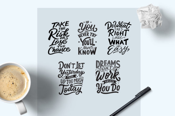 Motivational Quotes Bundle Graphic By Weape Design Image 3