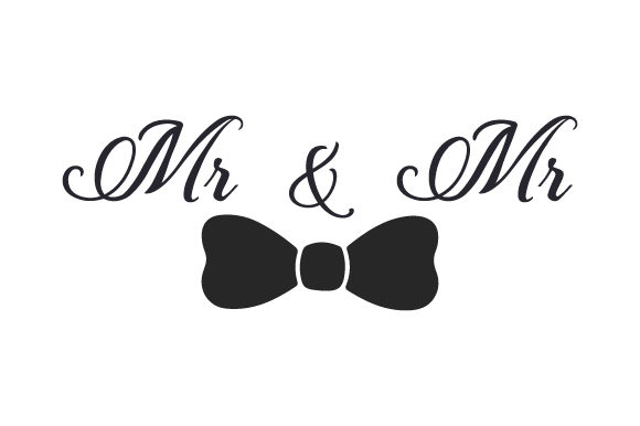 Mr & Mr Wedding Craft Cut File By Creative Fabrica Crafts