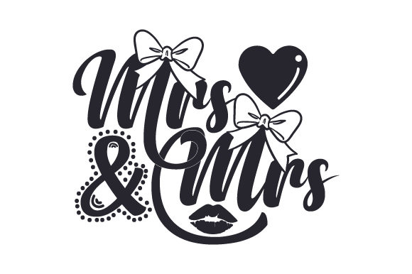 Download Free Mrs Mrs Svg Cut File By Creative Fabrica Crafts Creative Fabrica for Cricut Explore, Silhouette and other cutting machines.