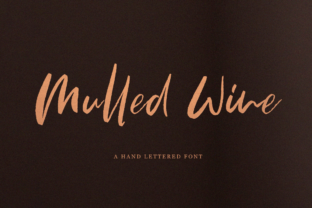 Mulled Wine Script & Handwritten Font By Pasha Larin