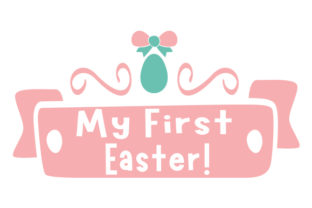 My First Easter! Craft Design By Creative Fabrica Crafts