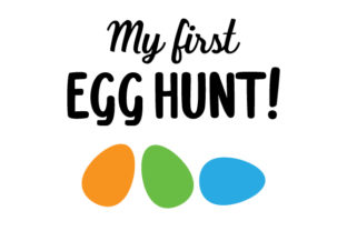 My First Egg Hunt! Craft Design By Creative Fabrica Crafts