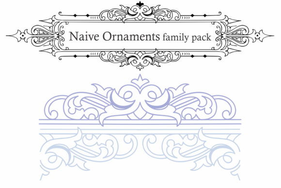 Naive Ornaments Family Font By Intellecta Design Image 2