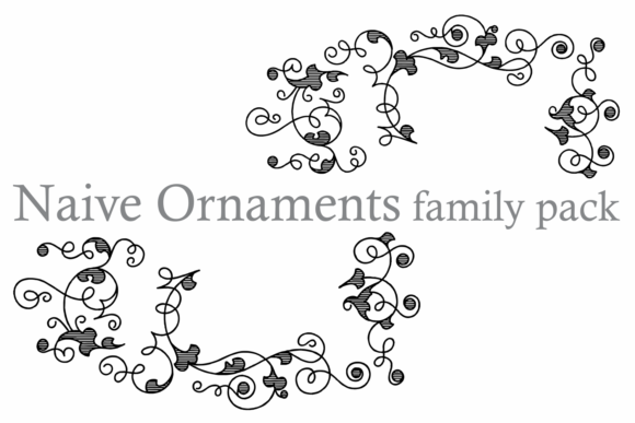Naive Ornaments Family Font By Intellecta Design Image 5