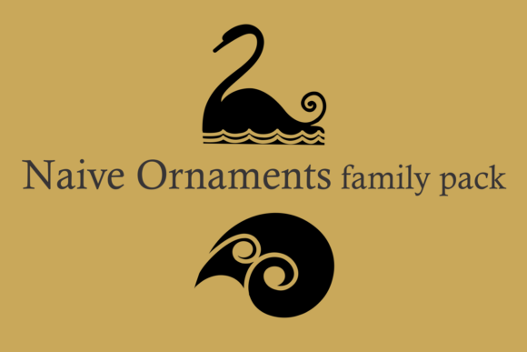 Naive Ornaments Family Font By Intellecta Design Image 6