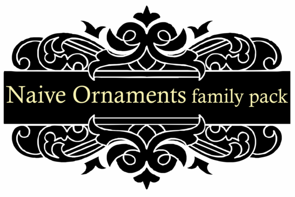 Naive Ornaments Family Font By Intellecta Design Image 7