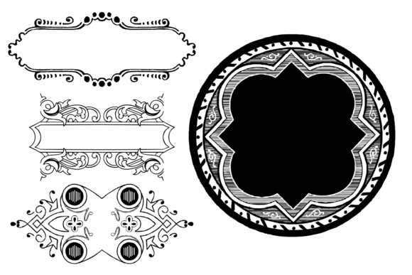 Naive Ornaments Family Font By Intellecta Design Image 8