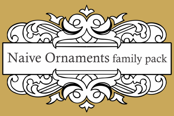 Naive Ornaments Family Font By Intellecta Design Image 10