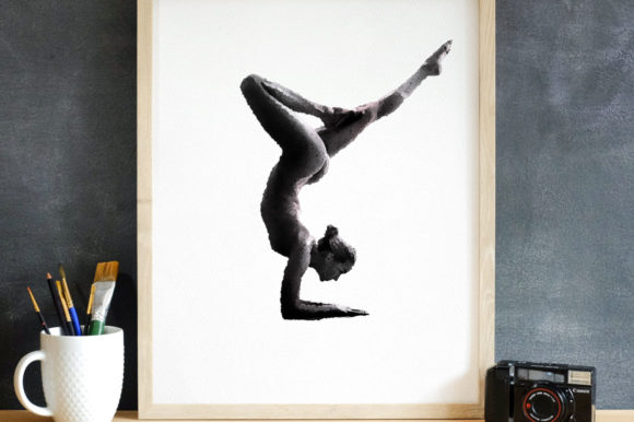 Download Free Naked Ballet Black White Printable Graphic By Nomad Hustler for Cricut Explore, Silhouette and other cutting machines.