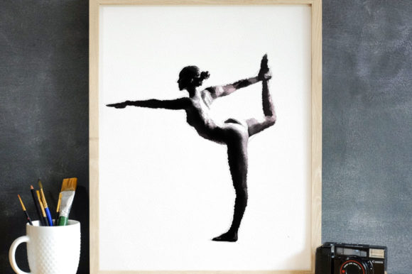 Print on Demand: Naked Ballet Black & White Printable Graphic Illustrations By Nomad Hustler