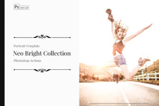 Download Free Neo Bright Color Grading Photoshop Actions Graphic By 3motional for Cricut Explore, Silhouette and other cutting machines.