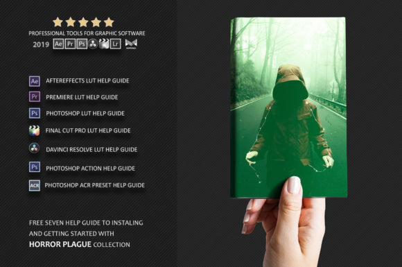 Download Free Neo Horror Plague Color Grading Photoshop Actions Graphic By SVG Cut Files