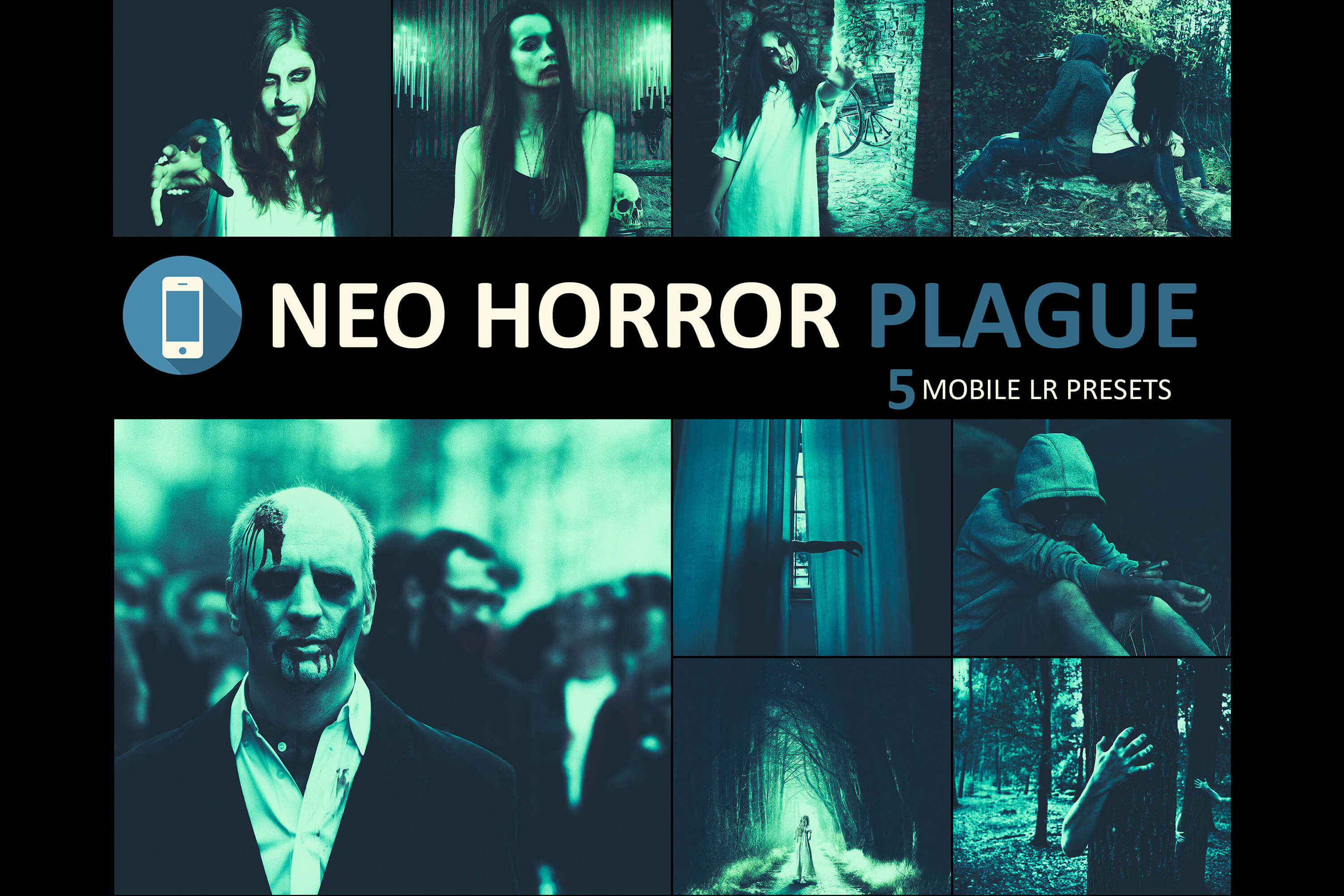 Neo Horror Plague mobile lightroom presets Graphic by 3Motional