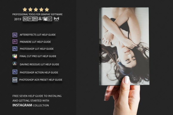 Print on Demand: Neo Instagram Color Grading Photoshop Actions Graphic Actions & Presets By 3Motional - Image 3