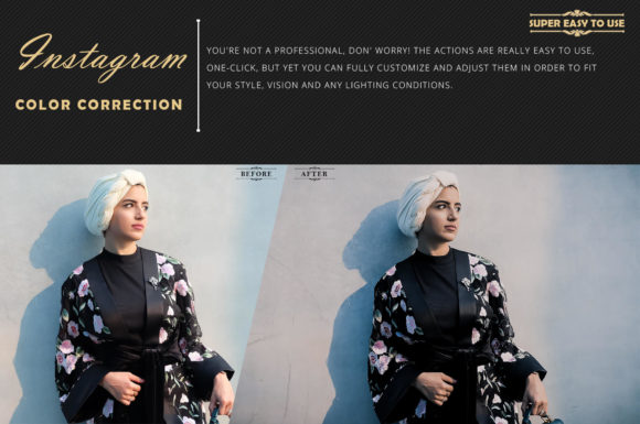 Print on Demand: Neo Instagram Color Grading Photoshop Actions Graphic Actions & Presets By 3Motional - Image 5