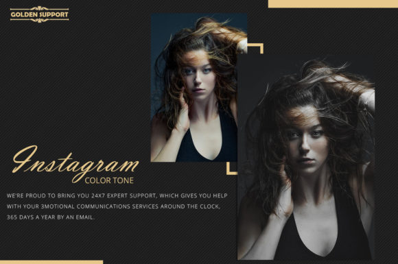 Print on Demand: Neo Instagram Color Grading Photoshop Actions Graphic Actions & Presets By 3Motional - Image 9