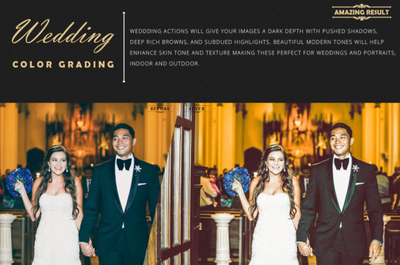 Download Free Neo Wedding Color Grading Photoshop Actions Graphic By 3motional for Cricut Explore, Silhouette and other cutting machines.