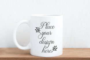 Print on Demand: Neutral Coffee Cup Mockup Graphic Product Mockups By Leo Flo Mockups
