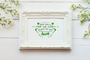 Never Iron a Four-leaf Clover Graphic By summersSVG