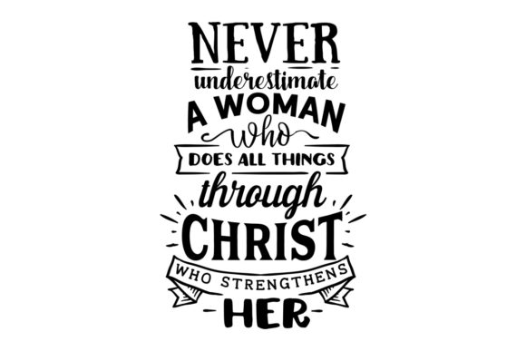 Download Free Never Underestimate A Woman Svg Plotterdatei Von Creative for Cricut Explore, Silhouette and other cutting machines.
